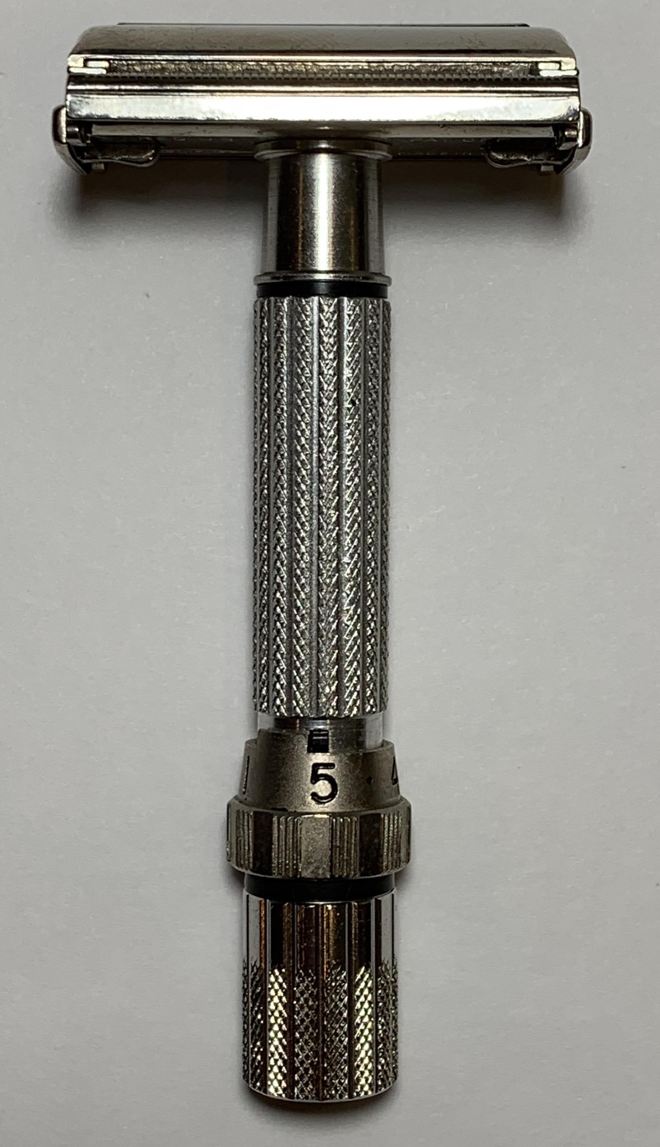 Bottom Dial 5 Position Nickel
