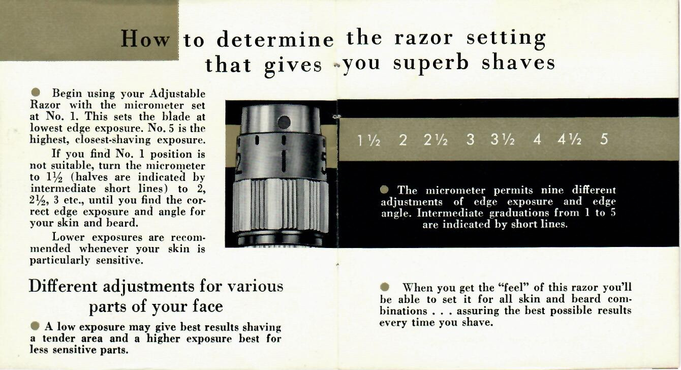 1955 The Adjustable Exposure Micrometer Introduced