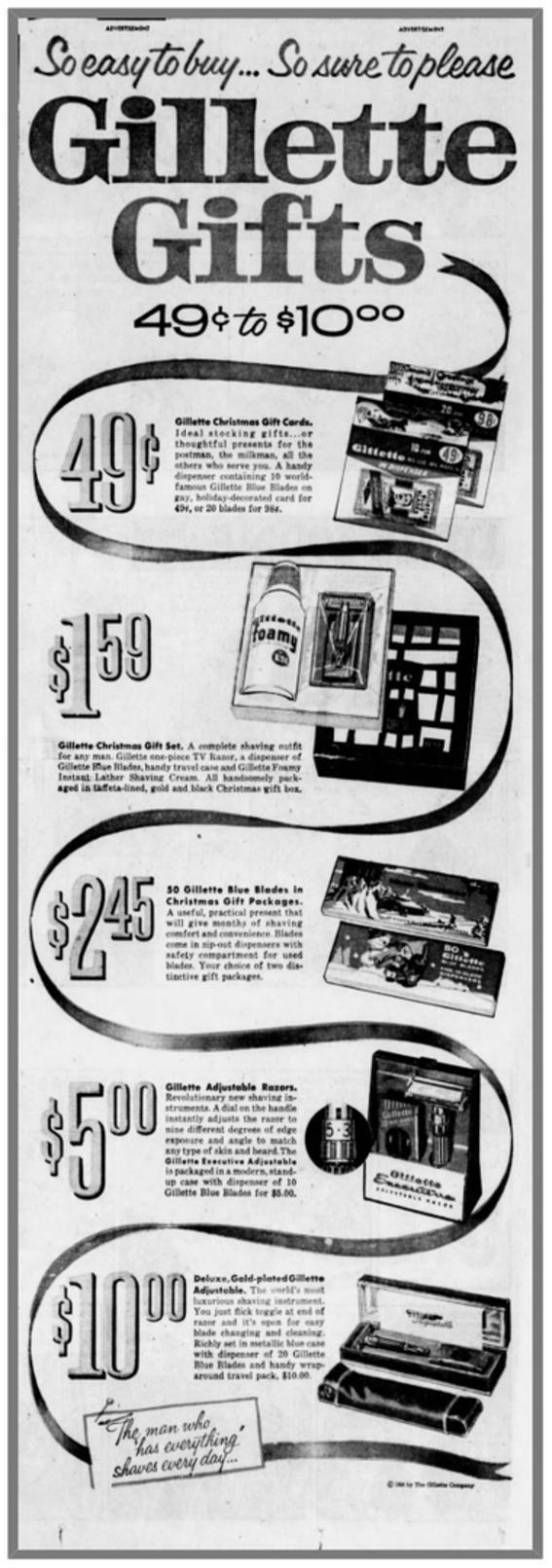 Executive Fatboy advertisement 12-7-1958 The Orlando Sentinal (P128)
