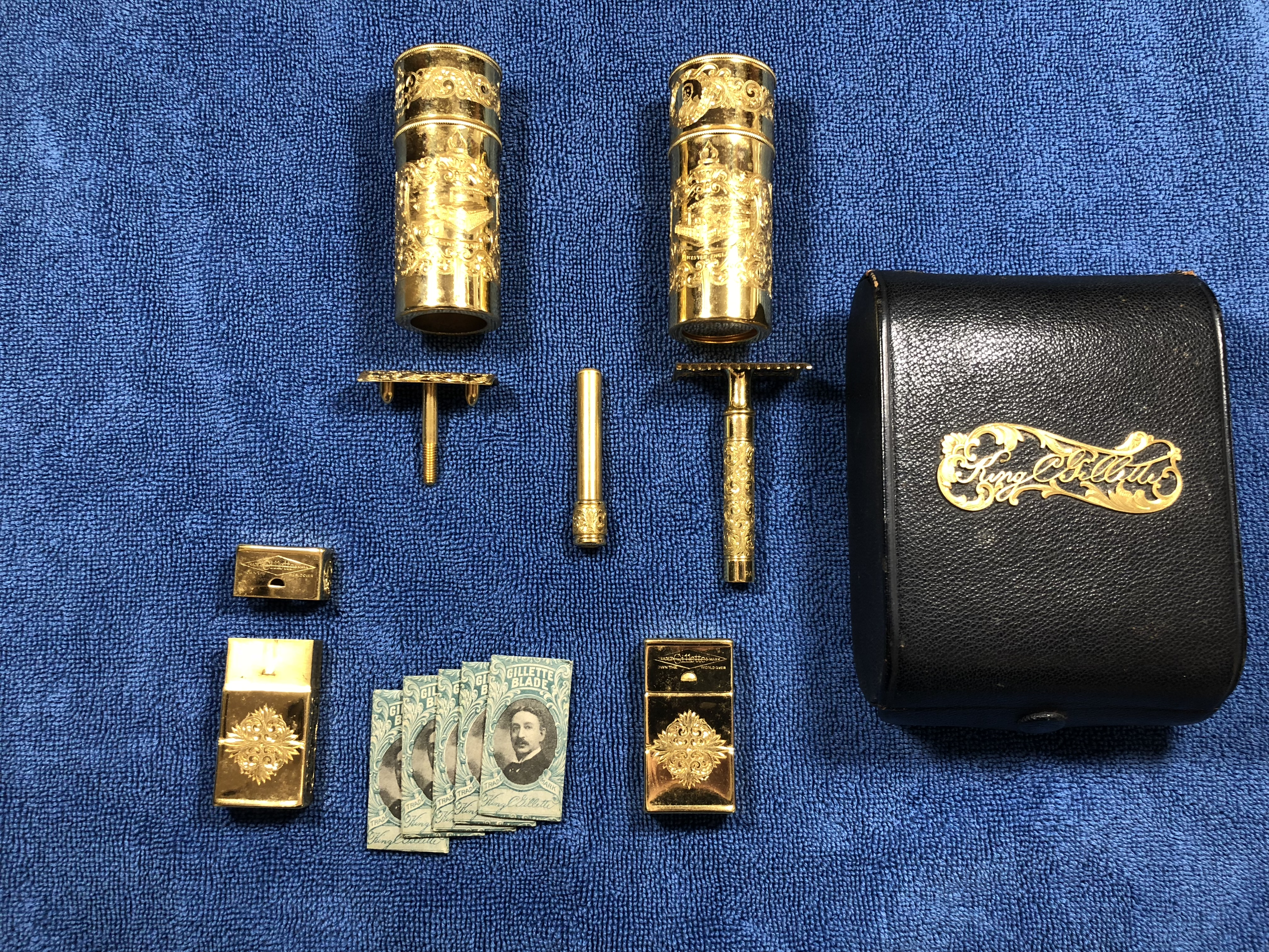 King Camp Gillette's de Luxe Combination Set