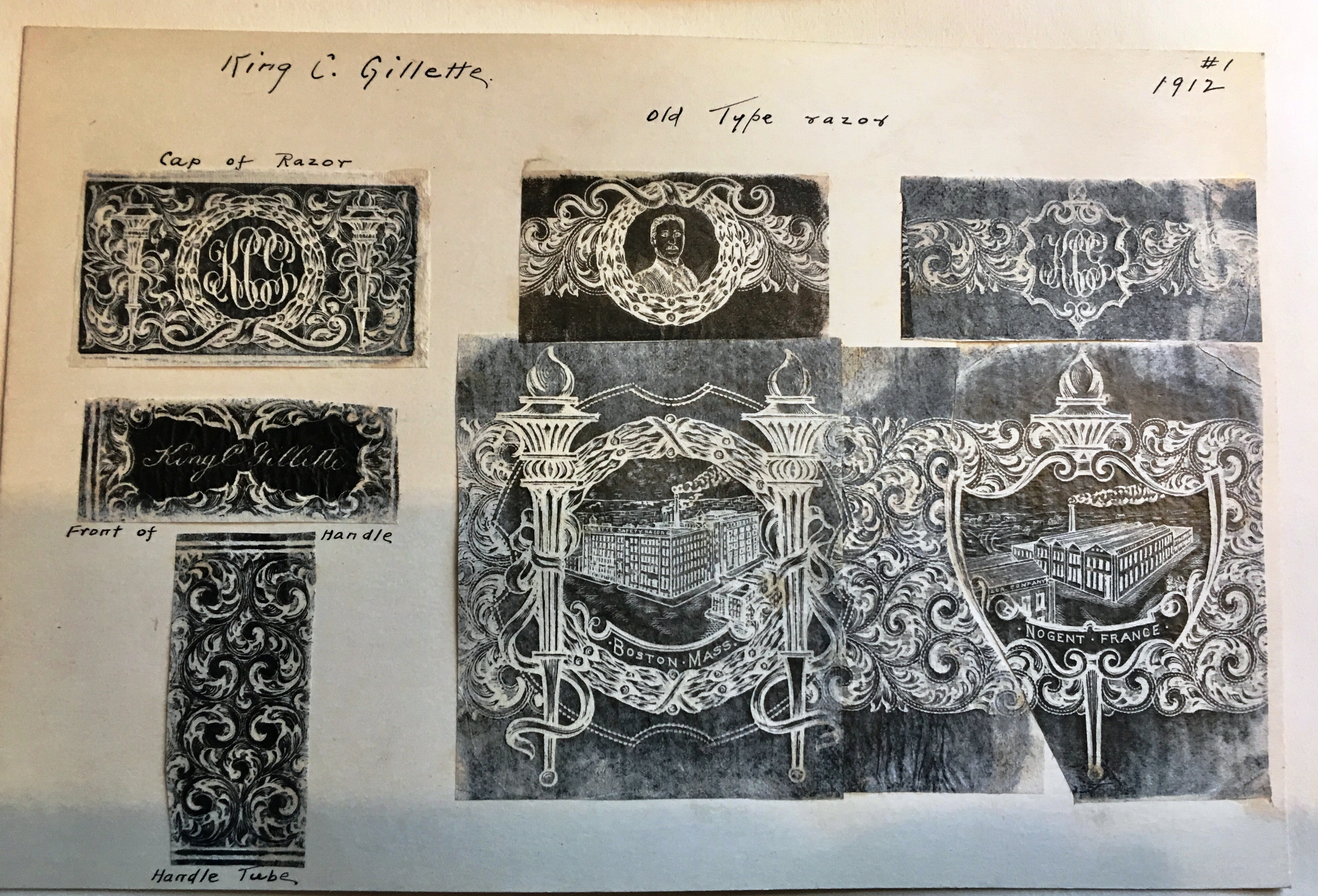 Engraver's Original Rubbings (#1)