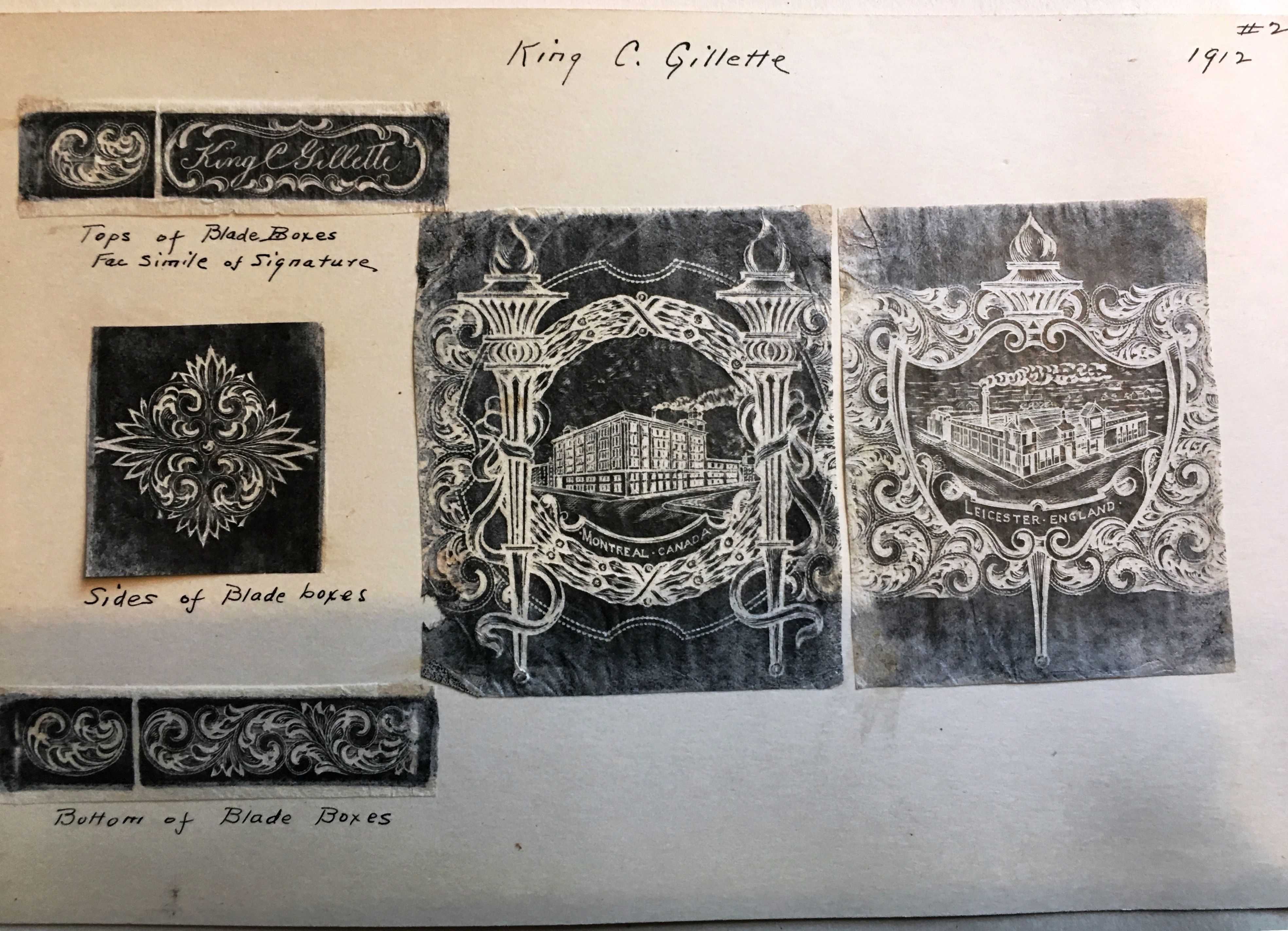 Engraver's Original Rubbings (#2)