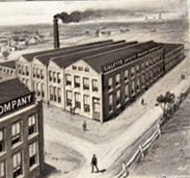 Gillette Factory Nogent France
