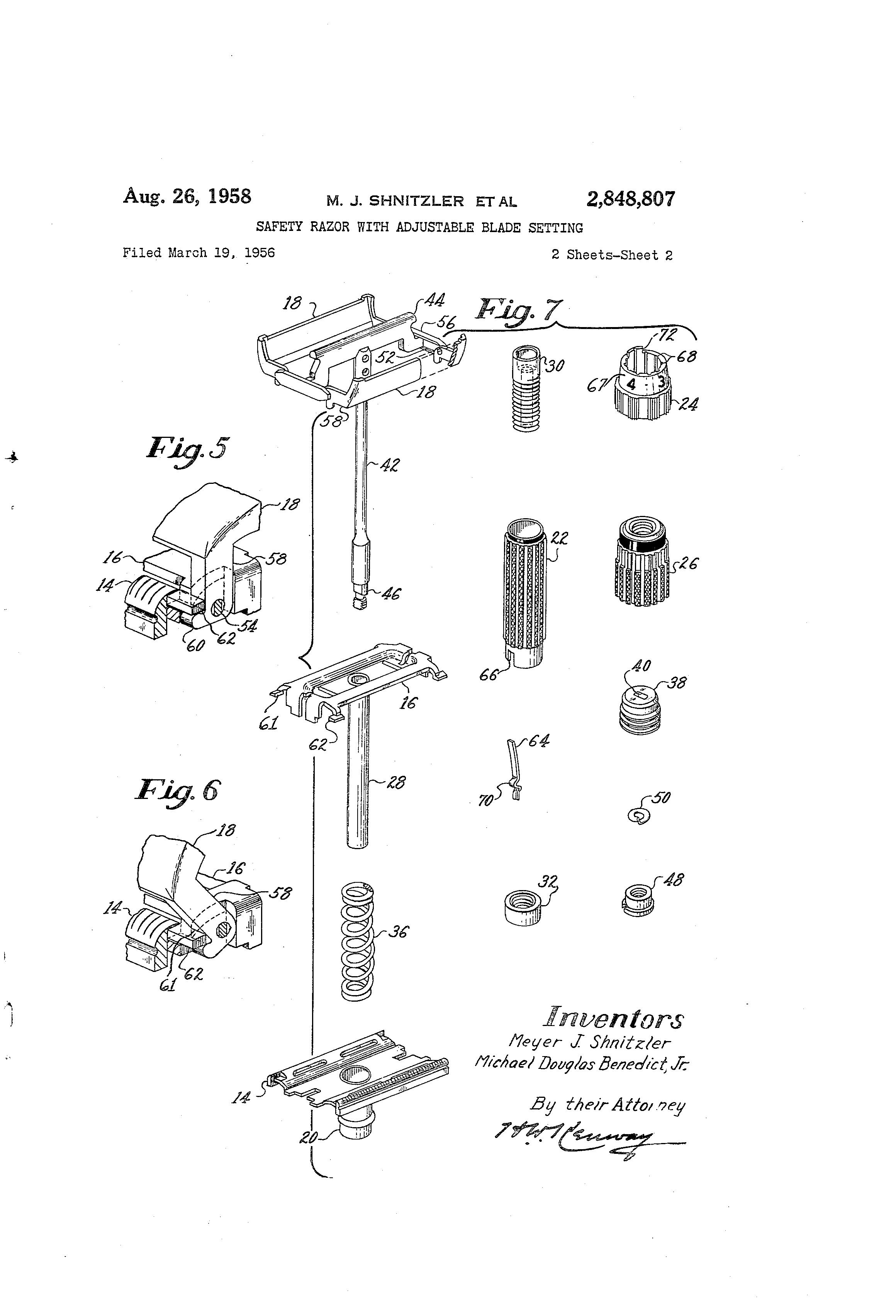 Bottom Dial Patent Diagram