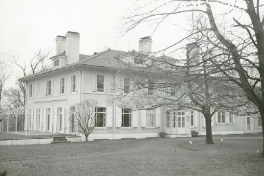 Gaisman's Estate House now part of Hart's Brook Park and Preserve