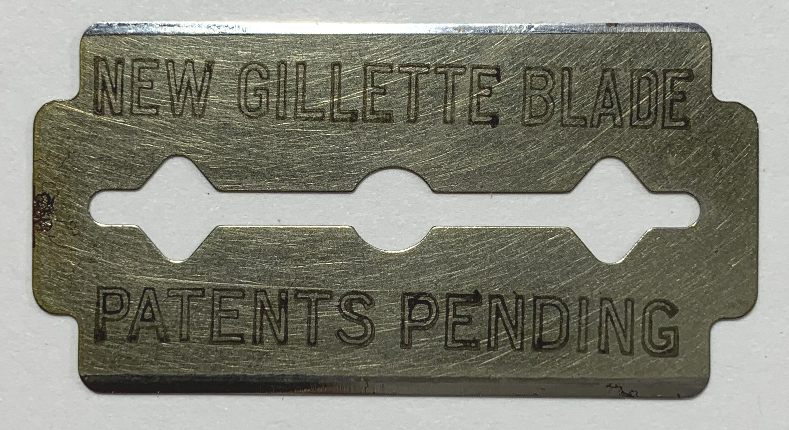 """New"" Gillette Blade"