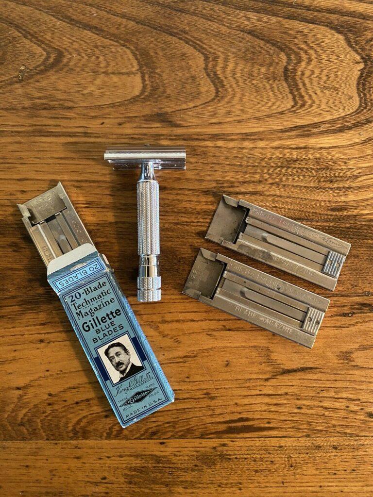 Gillette Techmatic 1948(?), 3-14-2021 $2494.39 (294046449284)